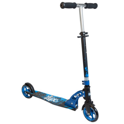 Aluminium Scooter No Rules 145 mm black/blue