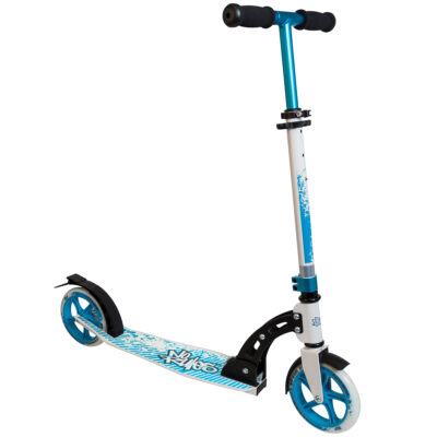 Aluminium Scooter No Rules 180 mm black/blue/white