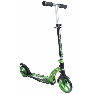 Aluminium Scooter No Rules 180 mm black/green