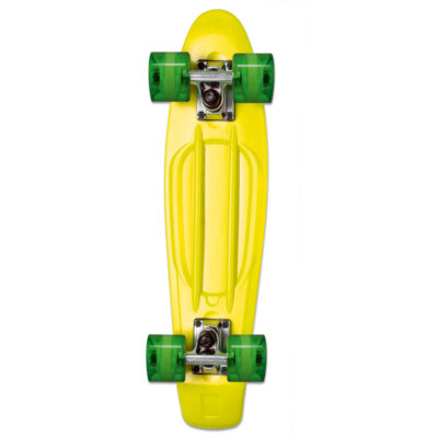 Skateboard fun, assorted green, red, yellow