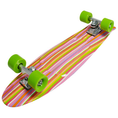 Skateboard fun, deluxe – Rainbow