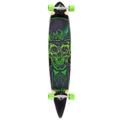 Longboard ABEC 7, skull