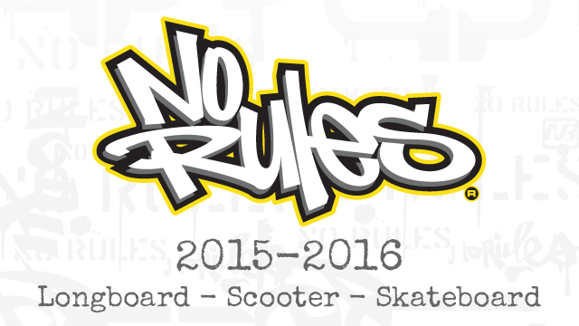 No Rules® 2015-2016<br>new products