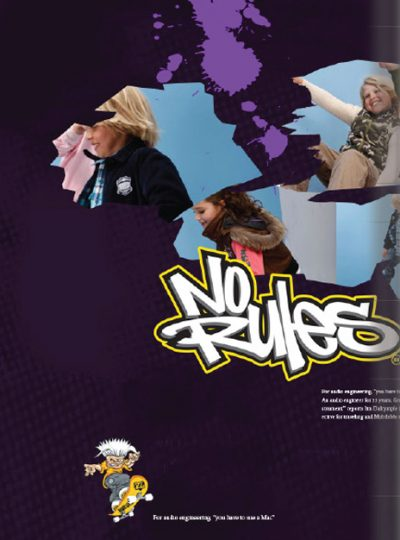 No Rules® 2009 Winter Collection