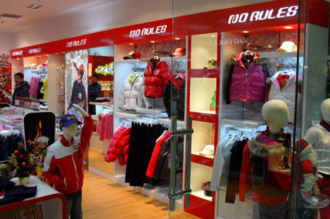 NO RULES® 72nd store in Beijing, China